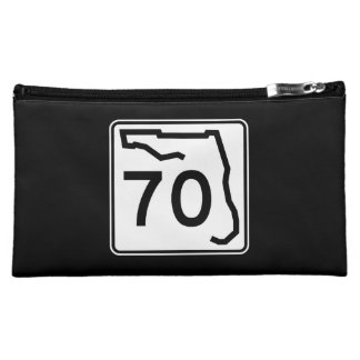 Florida State Route 70 Cosmetic Bag