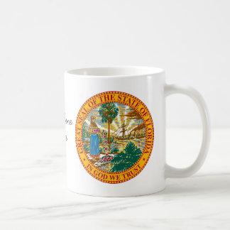 Florida State Seal and Motto Coffee Mug