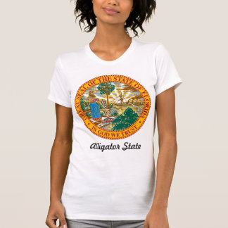 Florida State Seal and Motto T Shirt