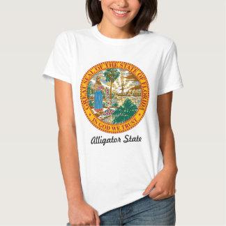 Florida State Seal and Motto Tee Shirt
