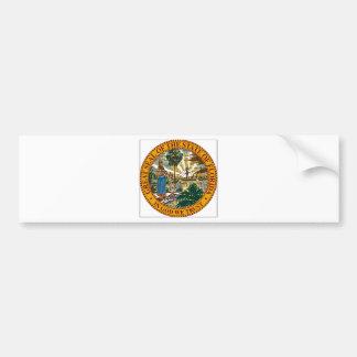 Florida State Seal Bumper Sticker