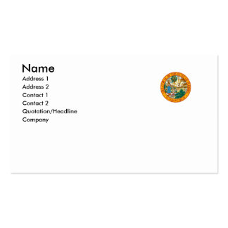 Florida State Seal Double-Sided Standard Business Cards (Pack Of 100)