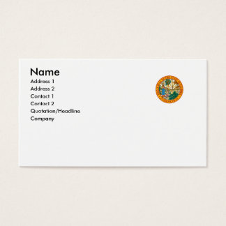 Florida State Seal Business Card