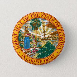 Florida State Seal Button