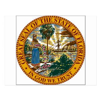 Florida State Seal Postcard