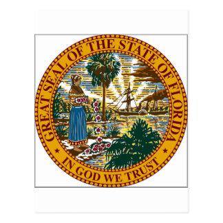 Florida State Seal Post Card