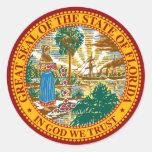 FLORIDA STATE SEAL STICKER