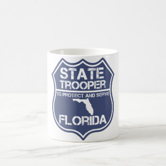 Florida State Trooper To Protect And Serve Coffee Mug