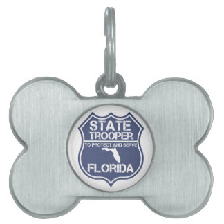 Florida State Trooper To Protect And Serve Pet Tags
