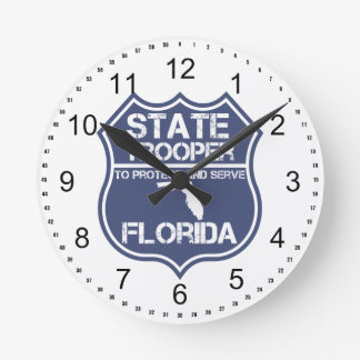 Florida State Trooper To Protect And Serve Round Clock