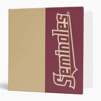 Florida State University Seminoles 3 Ring Binder