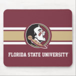 "Florida State University Seminoles Gold Mouse Pad<br><div class=""desc"">Check out these official Florida State University designs! You can personalize your own FSU merchandise on Zazzle.com to show off your Seminoles pride. This Florida State gear is perfect for students,  friends,  family,  staff,  and alumni.  Go Noles!</div>"