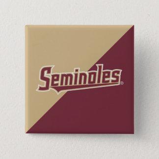 Florida State University Seminoles Pinback Button