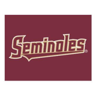 Florida State University Seminoles Postcard