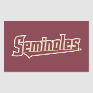Florida State University Seminoles Rectangular Sticker