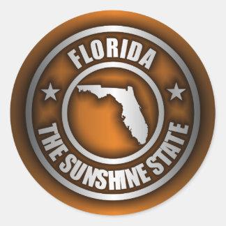 """Florida Steel"" Stickers (O)"