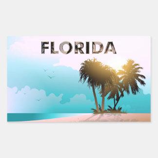 Florida Rectangular Sticker