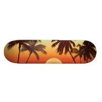 Florida Style Skateboard Deck