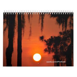 Florida Sun Calendar