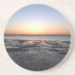 florida sun set beverage coaster