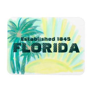 Florida sunny palms established 1845 magnet