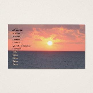 Florida Sunrise Business Card