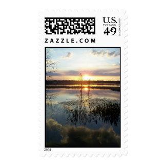 Florida Sunset 172 Postage Stamp