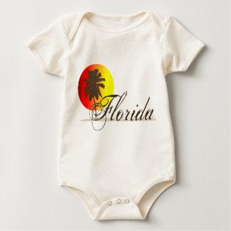 Florida Sunset Baby Bodysuit
