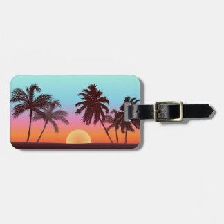 Florida Sunset Bag Tag
