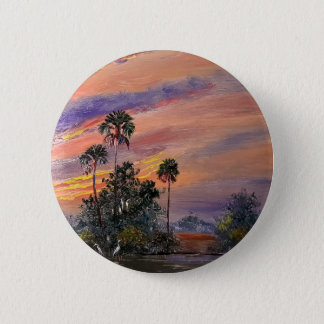 Florida Sunset Colors Button