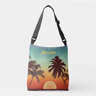 Florida Sunset Crossbody Bag