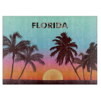 Florida Sunset Cutting Board