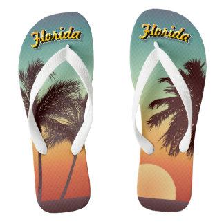 Florida Sunset Flip Flops