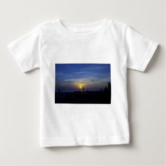 Florida Sunset in Blue Baby T-Shirt