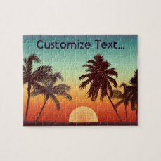 Florida Sunset Jigsaw Puzzle