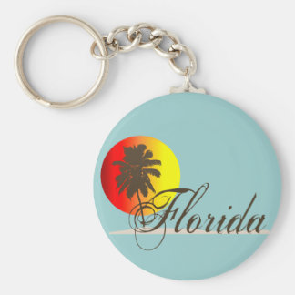 Florida Sunset Keychain