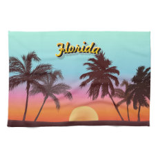 Florida Sunset Kitchen Towel