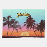 Florida Sunset Kitchen Towels