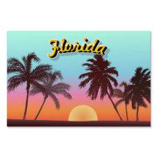 Florida Sunset Lawn Sign