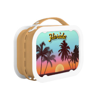 Florida Sunset Lunch Box