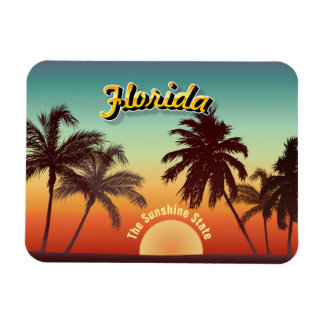 Florida Sunset Magnet