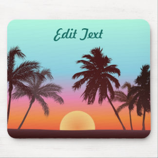 Florida Sunset Mouse Pad