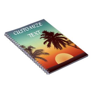 Florida Sunset Notebook