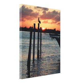Florida Sunset on Premium Canvas