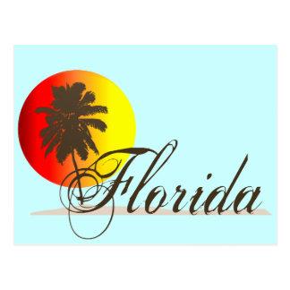 Florida Sunset Postcard