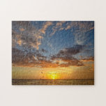 """Florida Sunset - Puzzle<br><div class=""""desc"""">Challenge your puzzle making skills with this beautiful shot of a Florida Gulf Coast sunset.  And be sure to check out the range of sizes available to choose from ... </div>"""