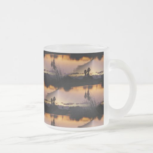 Florida Sunset Reflection Mugs