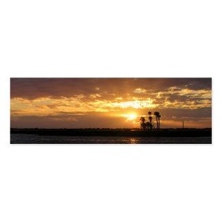 Florida Sunset Skinny Business Card/Mini Bookmark