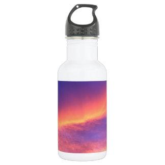 Florida sunset stainless steel water bottle