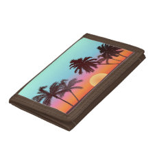 Florida Sunset Tri-fold Wallet